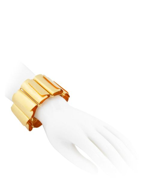 Herve Van Der Straeten | Metallic Pliage Bracelet | Lyst