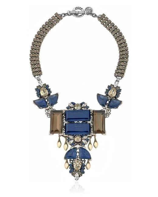 Anton Heunis | Blue Large Geometric Rebel Necklace | Lyst