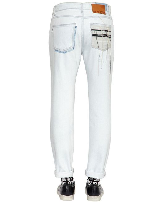 Outlet New Styles Light denim slim jeans Msgm Best Sale ePVrea