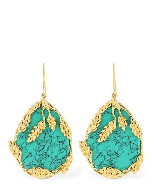 Aurelie Bidermann Blue Talitha Earrings