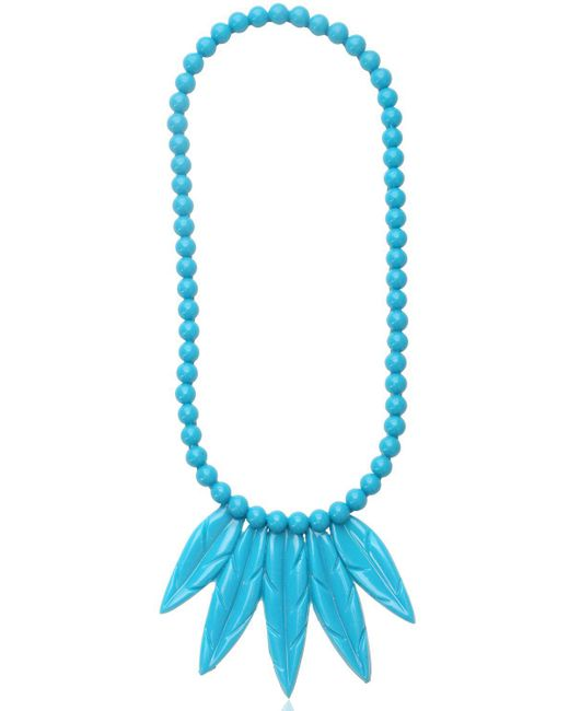 Mariah Rovery - Blue Colar Penas Necklace - Lyst
