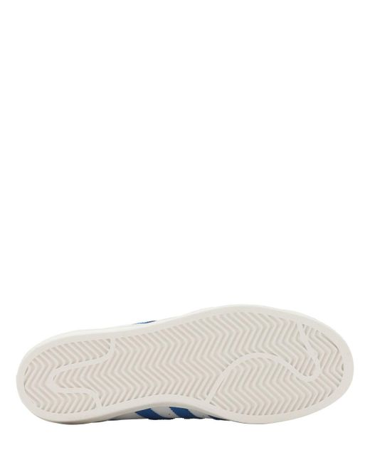 メンズ Adidas Originals ホワイト And ブルー Superstar スニーカー Blue