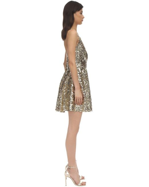 Короткая Юбка С Пайетками Dolce & Gabbana, цвет: Multicolor