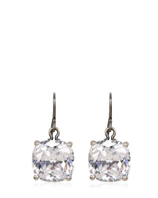 Bottega Veneta | Natural Cubic Zirconia Earrings | Lyst