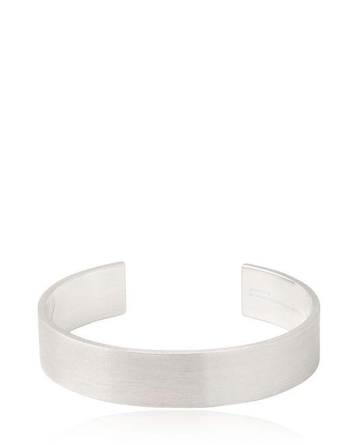 Le Gramme | Metallic Le 41 Brushed Sterling Silver Bracelet | Lyst