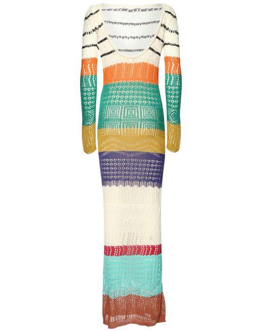 Missoni ビスコースブレンドニットドレス Multicolor