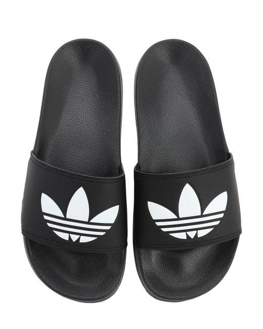 メンズ Adidas Originals Adilette Lite スライドサンダル Black