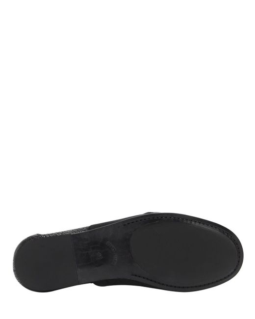 "Mocassins En Cuir Ciré ""lauf"" The Last Conspiracy pour homme en coloris Black"