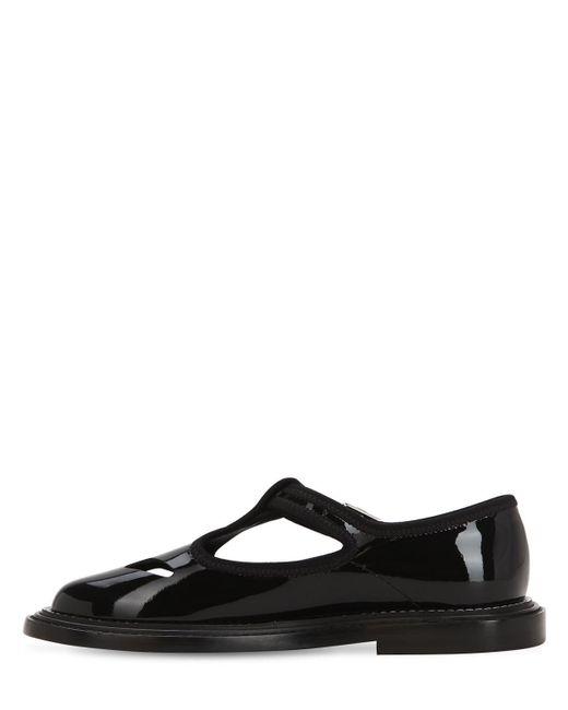 Burberry Leder 20mm Hohe Schuhe Aus Lackleder