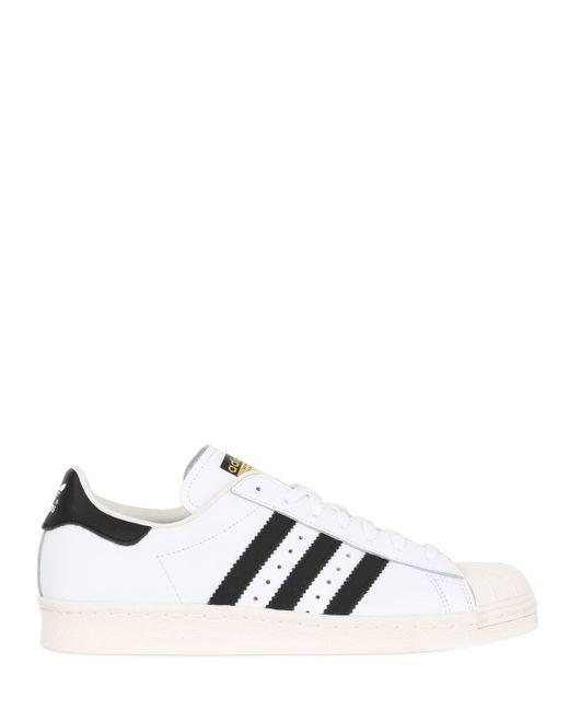Adidas Originals   White 'superstar 80's' Sneakers for Men   Lyst