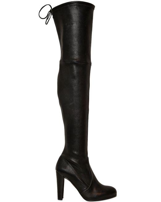 Stuart Weitzman | Black 'high Land' Boots | Lyst