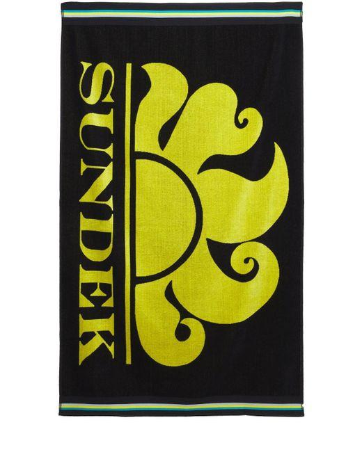 Пляжное Полотенце С Логотипом Sundek для него, цвет: Black