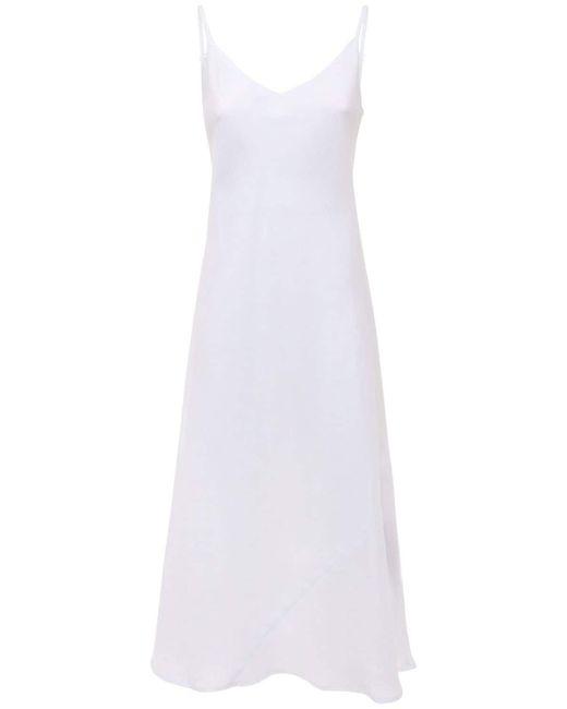 The Sleep Shirt リネンドレス White
