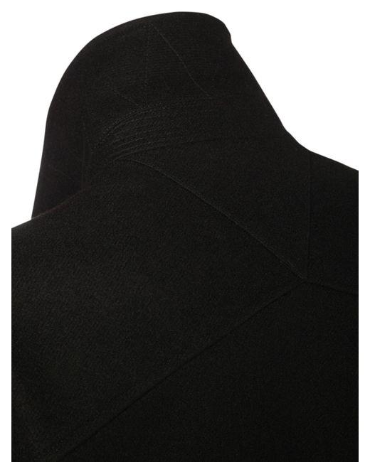 Bottega Veneta Jacke Aus Wollfilz in Black für Herren