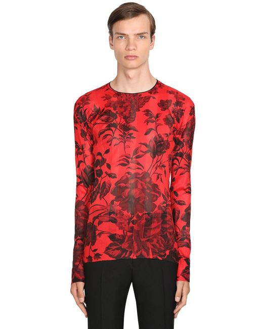 メンズ Givenchy プリントtシャツ Red