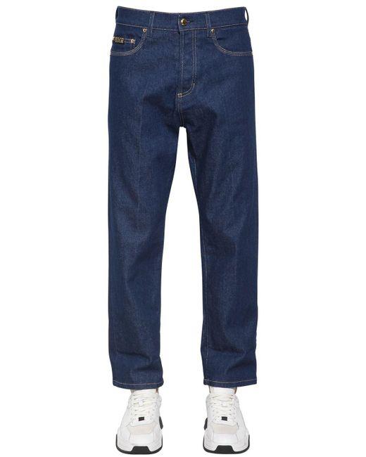 メンズ Versace Jeans Chino Fit デニムジーンズ Blue