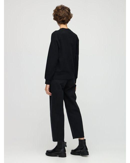 Belstaff コットンスウェットシャツ Black