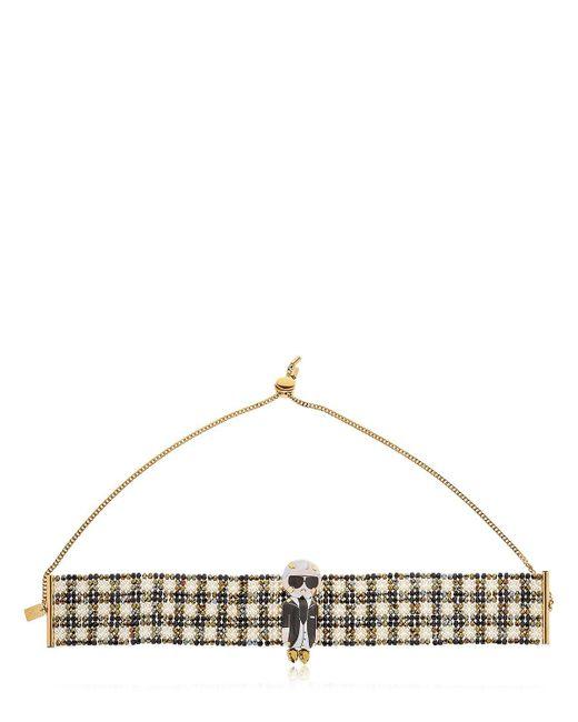 Bijoux De Famille | Multicolor Karl Beaded Choker Necklace | Lyst