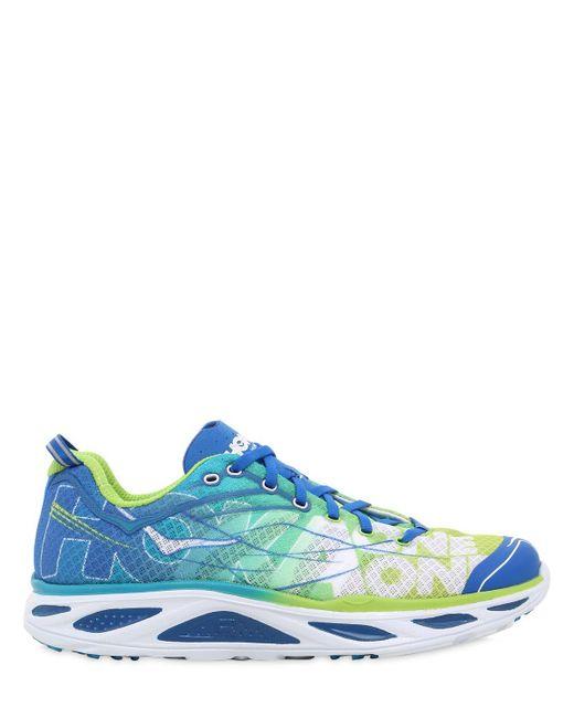 Hoka One One   Blue Huaka 2 Light Road Running Sneakers for Men   Lyst
