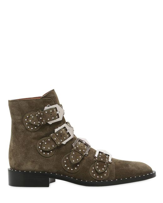 Givenchy | Multicolor 20mm Prue Studded Leather Ankle Boots | Lyst