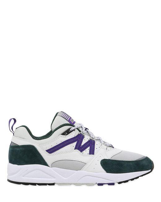 Karhu | White Fusion 2.0 Faux Suede & Nylon Sneakers for Men | Lyst