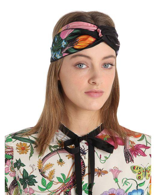 Mens Gucci Headband Black
