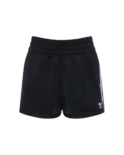 Adidas Originals 3 Stripes スウェットショートパンツ Black