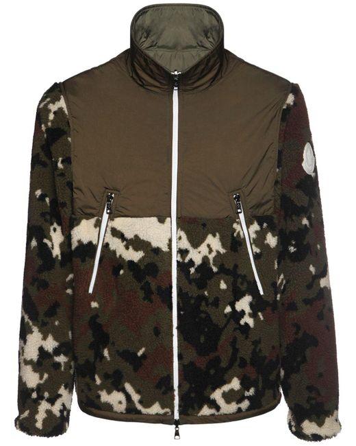 メンズ Moncler フリースジャケット Multicolor