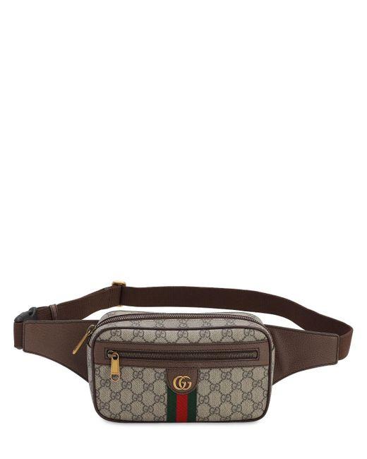 メンズ Gucci Ophidia Gg Supreme ベルトバッグ Multicolor