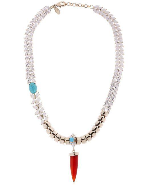 Iosselliani | Metallic Colors Of Burma Necklace | Lyst