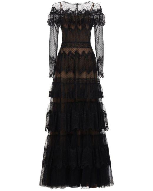 Платье Из Кружева Zuhair Murad, цвет: Black