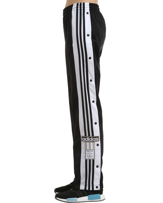 Adidas Originals Black Adibreak Techno Track Pants