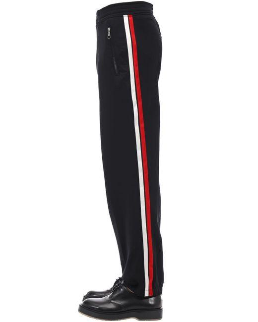 メンズ Neil Barrett Jogging テックパンツ Black