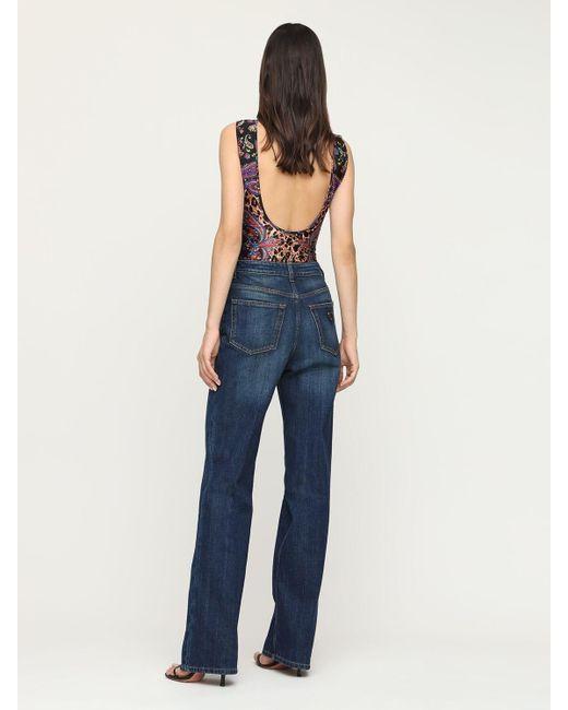 Versace Jeans ストレッチジャージーボディスーツ Multicolor