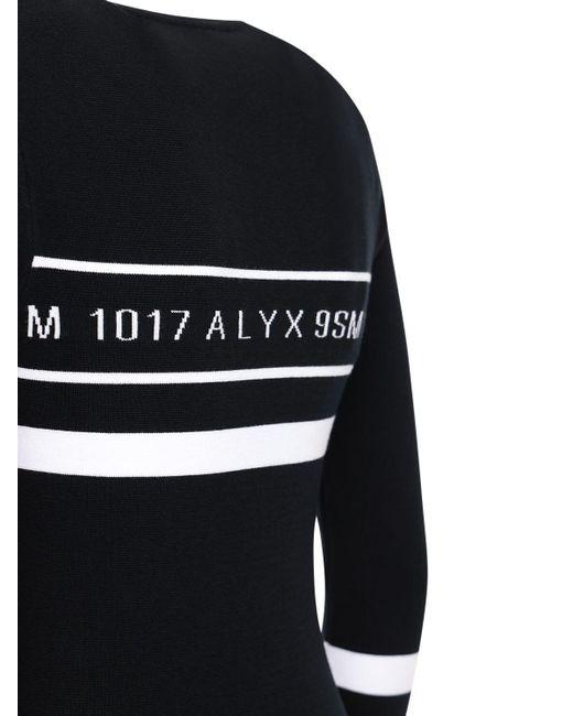 1017 ALYX 9SM ストレッチニットドレス Black
