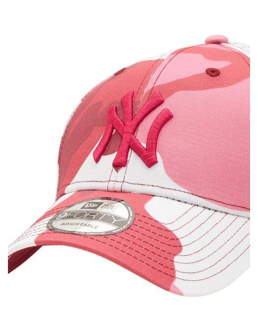 メンズ KTZ Ny Yankees 9forty キャップ Pink