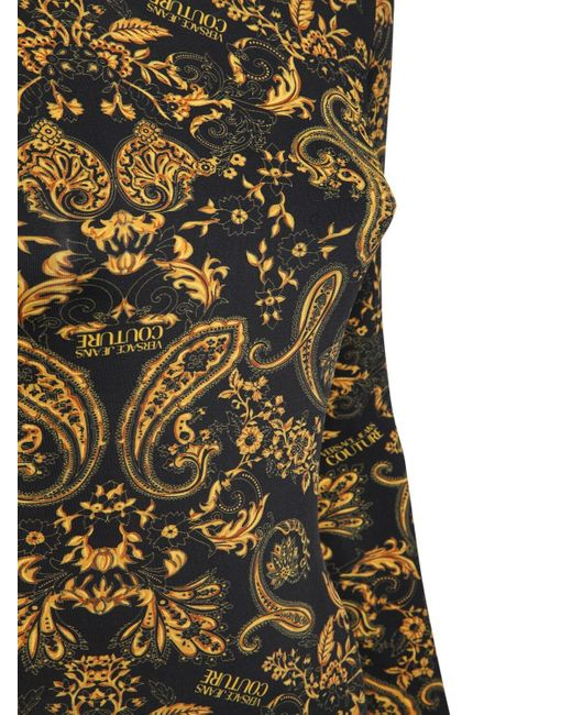 Versace Jeans ストレッチジャージードレス Black