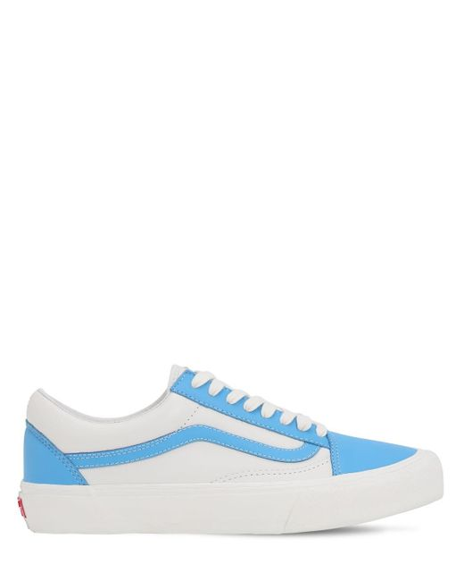 Кроссовки Ua Ol Skool Vlt Lx Vans, цвет: Blue