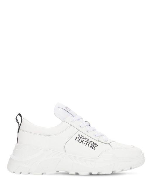 Кроссовки Speed С Логотипом 60 Мм Versace Jeans для него, цвет: White