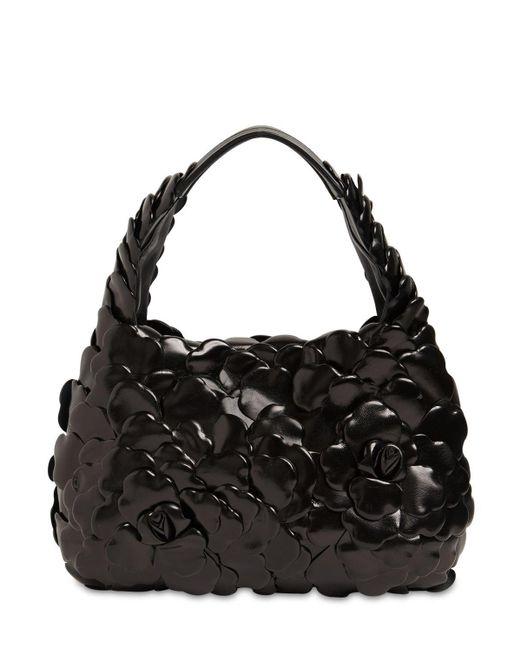 Сумка Из Кожи Valentino Garavani, цвет: Black