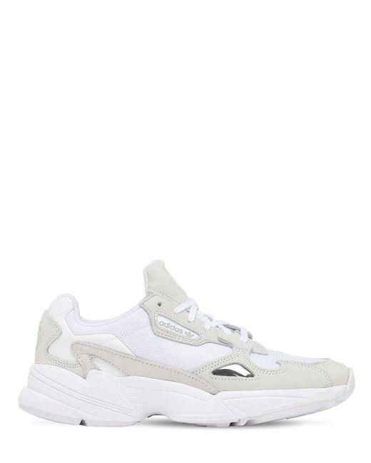 Adidas Originals Falcon スニーカー White