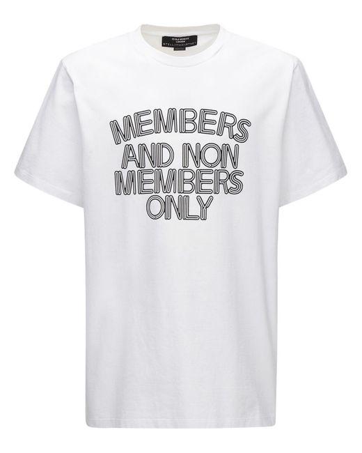 メンズ Stella McCartney コットンtシャツ White