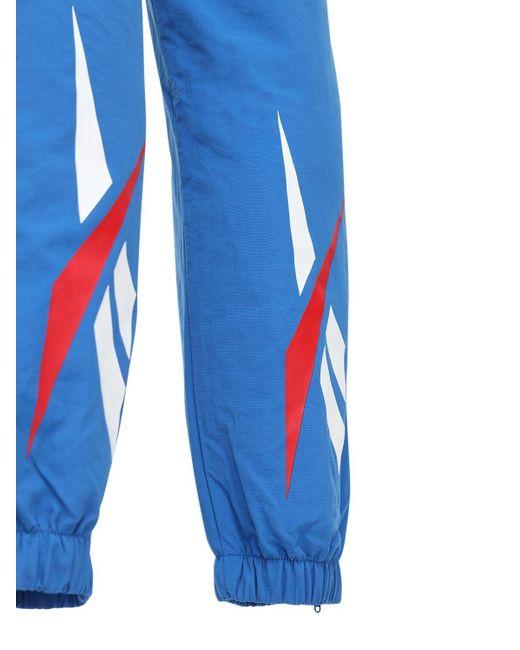 メンズ Reebok Classics Vector Fr トラックパンツ Blue