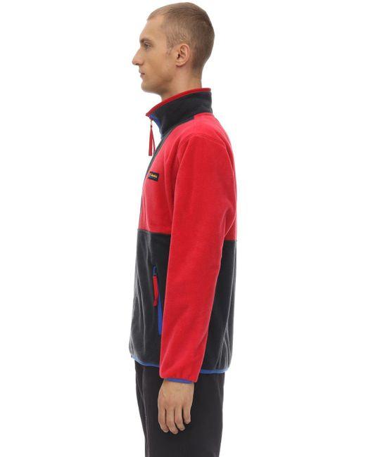 "Columbia Sweatshirt ""back Bowl Fz"" in Red für Herren"