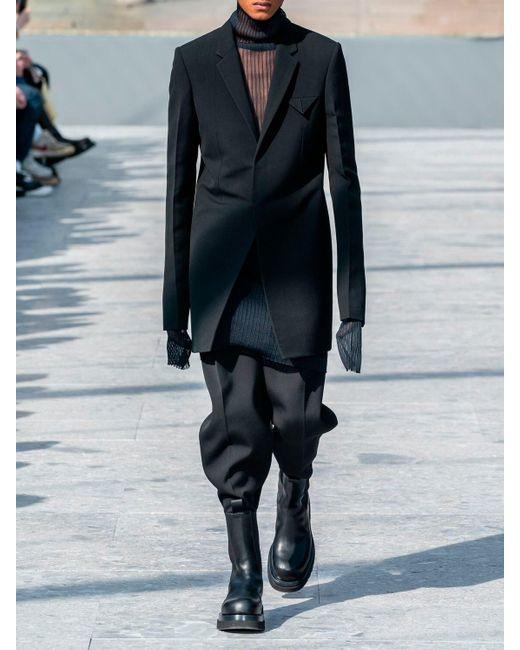 Пальто Из Шерсти И Кашемира Bottega Veneta для него, цвет: Blue