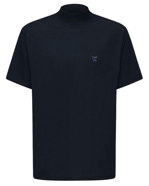 メンズ Needles オーバーサイズtシャツ Black