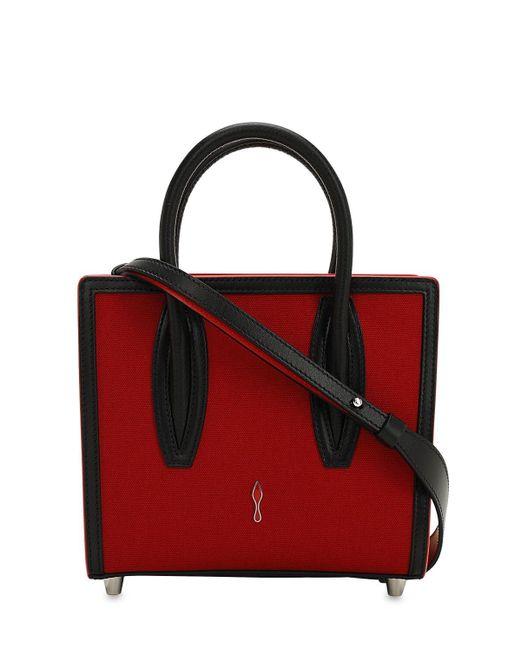 ada8869543d Christian Louboutin Paloma Mini Leopard Print Top Handle Bag - Lyst