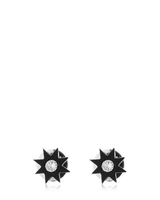 Colette - Black Stars Onyx & Diamond Earrings - Lyst