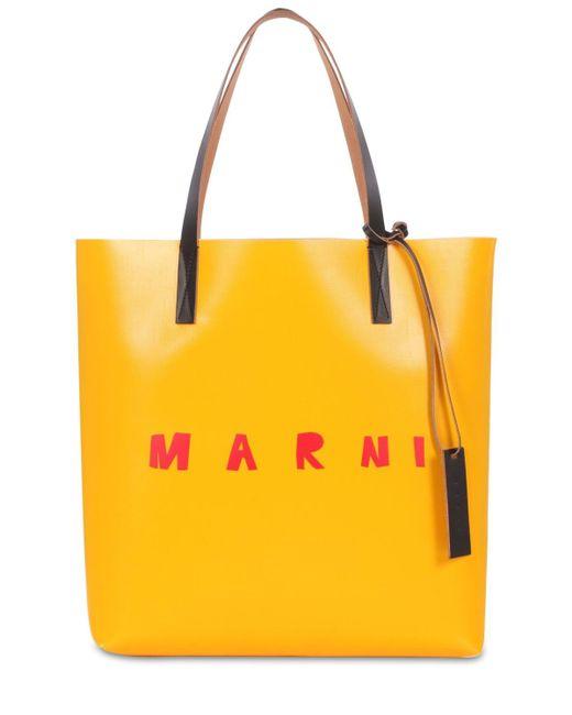 Marni Pvcトートバッグ Yellow