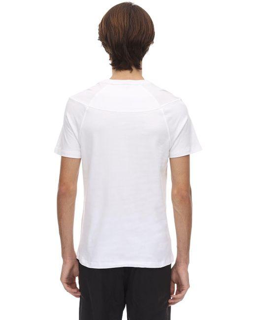 メンズ Raeburn Raeuburn コットンジャージーtシャツ White